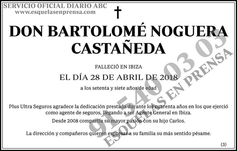 Bartolomé Noguera Castañeda
